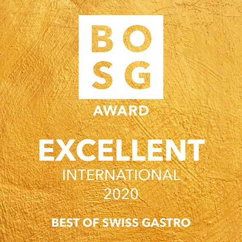 Best of Swiss Gastro Auszeichnung Excellent