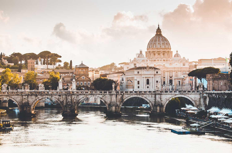 Rom Italien Panorama Aussicht